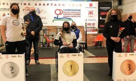 Loida Zabala ya es 15 veces campeona de España de powerlifting adaptado