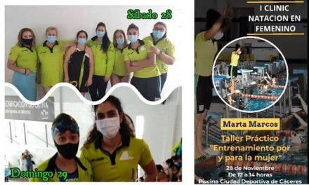 El CN Moralo se clasifica 3º en el Clinic Natación en Femenino