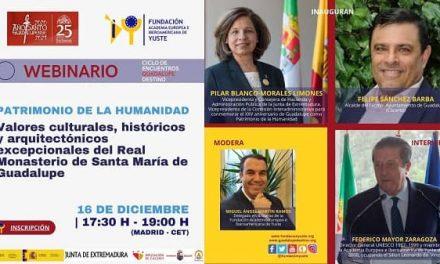 Federico Mayor Zaragoza cierra los encuentros Guadalupe Destino organizados por la Fundación Yuste