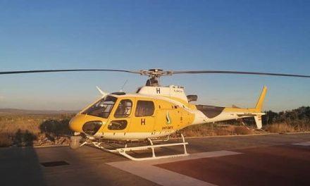 El Infoex tendrá un nuevo helicóptero para combatir los incendios en Extremadura