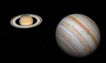 Observa en DIRECTO la conjunción de los planetas Júpiter y Saturno