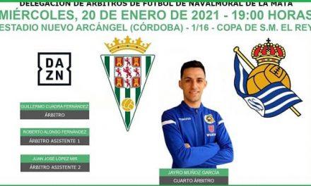 Jayro Muñoz, designado para arbitrar en los dieciseisavos de final de la Copa del Rey