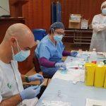 Da comienzo la vacunación de los docentes en Extremadura