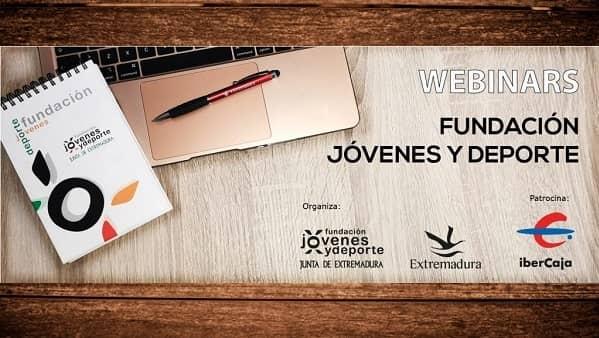 Abierta la inscripción para las webinars de formación deportiva de la Fundación Jóvenes y Deportes