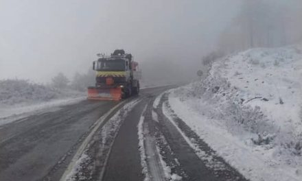 Diputación informa sobre las carreteras cortadas y pide a la ciudadanía que permanezcan en sus domicilios