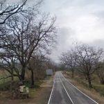 Mujer herida y atrapada en un accidente de tráfico en Losar de la Vera