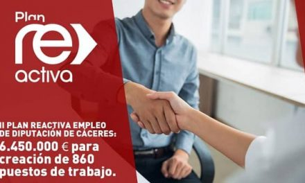 Diputación destina 6.450.000 euros para la creación de 860 puestos de trabajo con el II Plan Reactiva