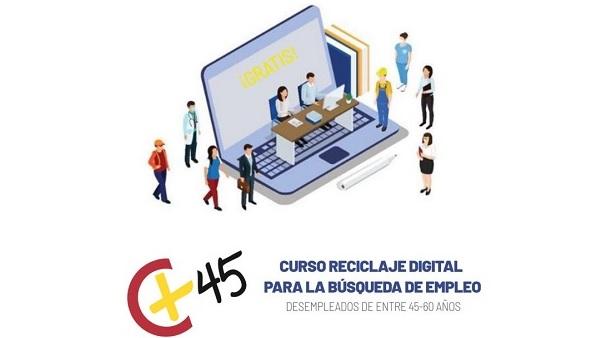 La Cámara de Comercio imparte en Navalmoral un curso para el reciclaje digital de los parados mayores de 45 años