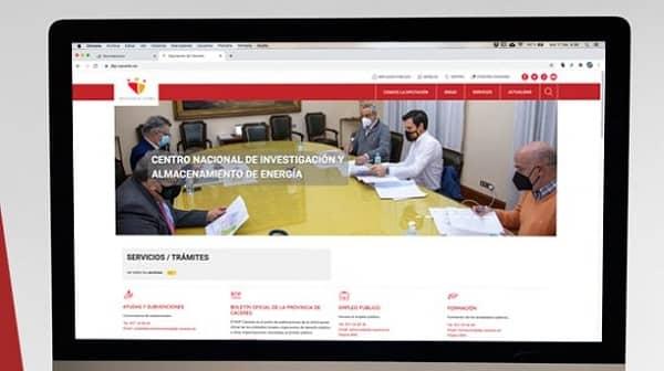 La Diputación de Cáceres estrena su nueva web institucional