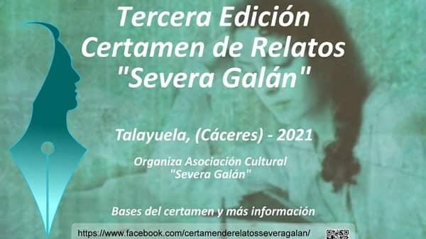 El III Certamen Literario Severa Galán recibe más de 70 obras