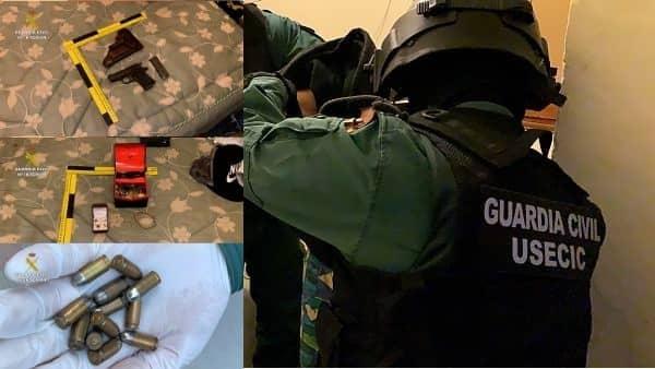 Desarticulado un grupo criminal organizado compuesto por tres vecinos de Talayuela y Majadas