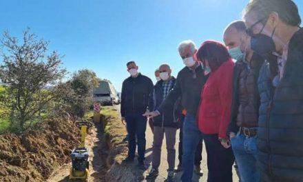 La Comunidad de Regantes de Valdecañas ha presentado las obras de mejora y modernización del regadío