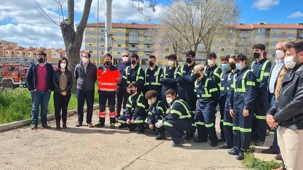 La Diputación y la Junta, presentan un ciclo de FP Dual para formar en emergencias y protección civil a futuros bomberos