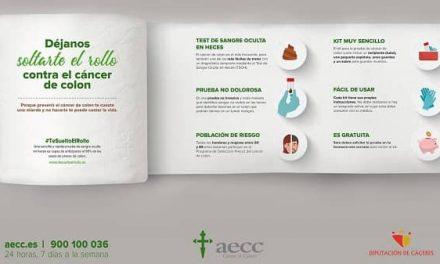 La AECC y la Diputación lanzan la campaña contra el cáncer de colon, #TeSueltoElRollo