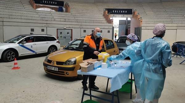 Se reduce la incidencia en el área de Navalmoral y reciben la vacuna las personas de 64 años