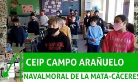 Para celebrar en el Día de la Tierra el CEIP Campo Arañuelo participa en un vídeo colaborativo