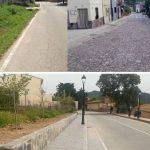 Navatrasierra finaliza las obras de pavimentación en la Avda. de Guadalupe