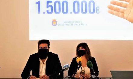 Navalmoral destina 1.500.000€ del remanente para ayudas a Pymes y autónomos