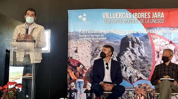 El diputado Álvaro S. Cotrina inauguró ayer en Garvín la XII Semana de los Geoparques Europeos