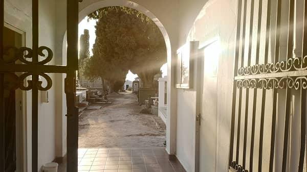 El cementerio municipal abrirá solo por las mañanas durante julio y agosto