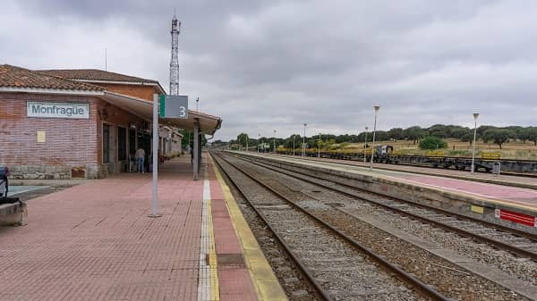 Adif realiza obras para regular la circulación entre Navalmoral y Monfragüe