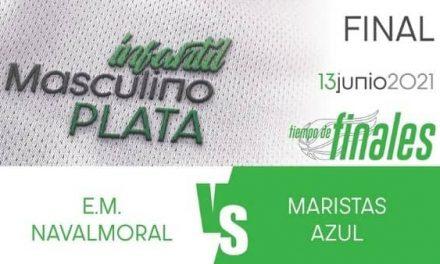 La E.M. Navalmoral juega en Cáceres la final Judex Plata Masculino Infantil de baloncesto