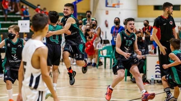 La Selección Extremeña Alevín de Minibasket juega hoy la final del Campeonato de España
