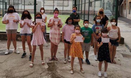 Entrega de premios del I Concurso de Carteles en contra del Consumo de Tabaco en menores