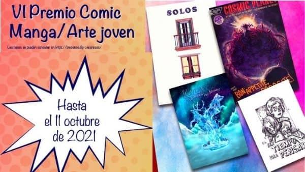 La Diputación lanza la VI edición del Premio Cómic/Manga/Arte Joven