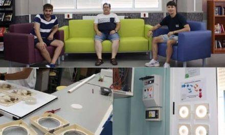 Alumnos del IES Zurbarán desarrollan un Sistema de Control de Calidad Ambiental