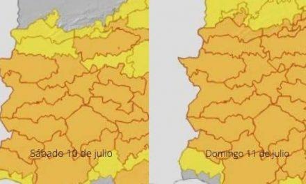 El 112 activa la Alerta Naranja por altas temperaturas en Extremadura