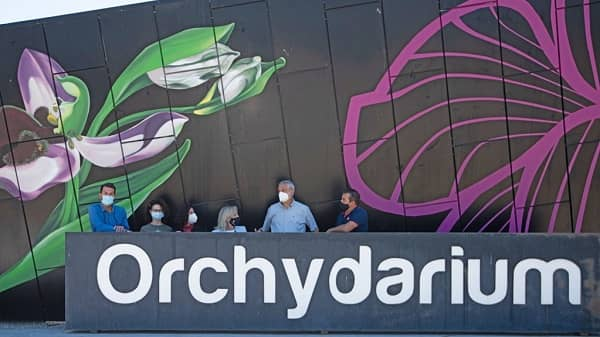 Carlos Carlos visita el Orchydarium de Almaraz