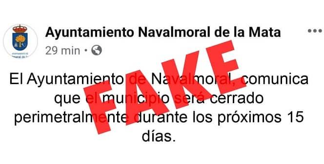 El Ayuntamiento denuncia en la Guardia Civil un bulo que usa el logo de la institución