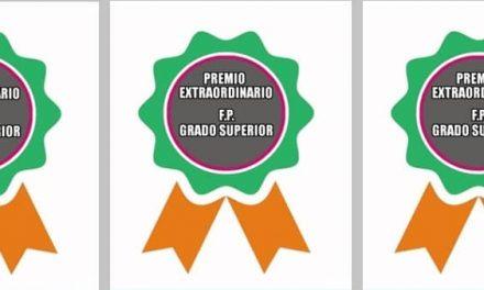 Extremadura convoca los Premios Extraordinarios de FP Grado Superior 2019/2020