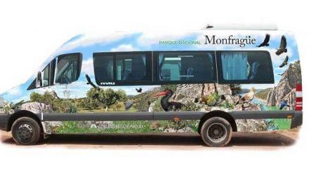 El Parque de Monfragüe reanuda el servicio gratuito de microbús