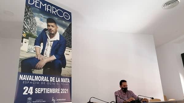 El cantante Demarco Flamenco actuará en la Feria de San Miguel 2021