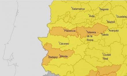 Alerta Naranja y Amarilla en Extremadura por la ola de calor