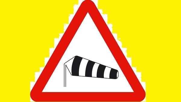 Alerta por tormentas con rachas de vientos fuertes o muy fuertes en Extremadura