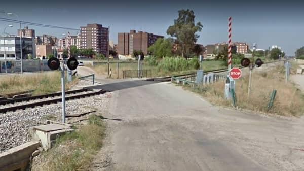 Varón herido grave al ser golpeado por el tren Madrid-Badajoz, en Talavera