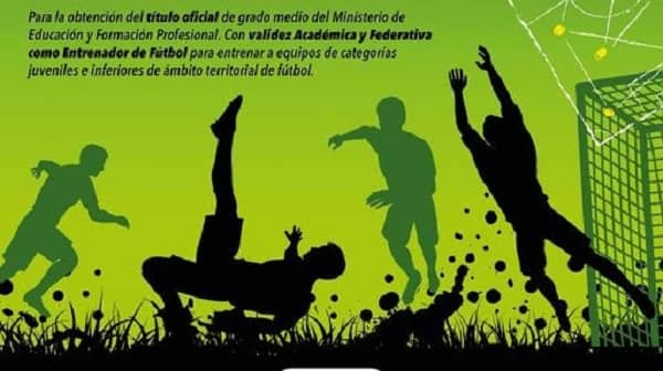 ADEME organiza un curso de Técnico Deportivo Nivel 1 de Fútbol