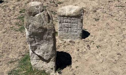 Personal técnico recupera patrimonio arqueológico aparecido por la bajada del agua del embalse de Valdecañas