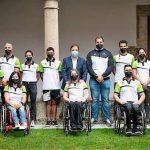 El presidente de la Junta recibe a los deportistas extremeños que han participado en Tokio 2020