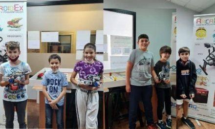 ArcaDroidEx participa en la competición nacional de Robótica, World Robot Olympiad