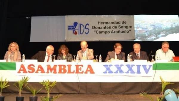 La Hermandad de Donantes de Sangre del Campo Arañuelo convoca la XXXV Asamblea General Ordinaria