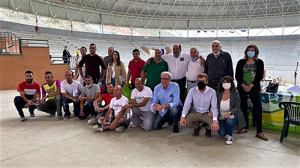 Una cuadrilla de Riolobos gana el XXXIV Concurso de Albañilería de San Miguel