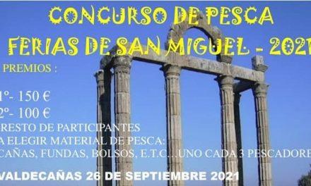 Se abre el plazo para participar en el concurso de pesca Feria de San Miguel