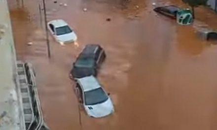 Inundaciones en Almendralejo, Zafra y Mérida por las intensas lluvias