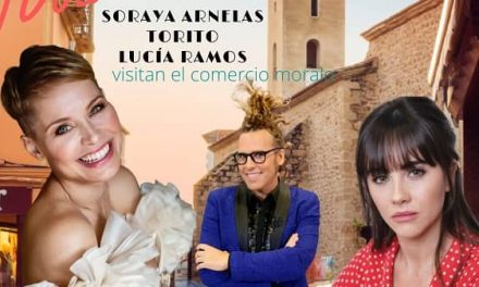 Soraya, Torito y Lucía Ramos de compras en Navalmoral