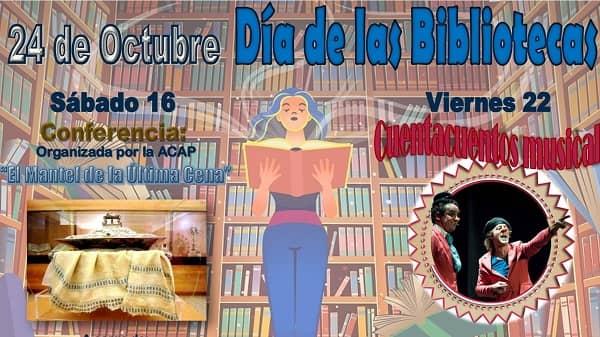 La Fundación Concha presenta los actos del Día de las Bibliotecas 2021