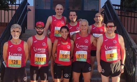 Los corredores de Navalmaratón participan en la Media Maratón de Malpartida de Plasencia